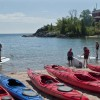 Enjoying Watersports on Lake Superior