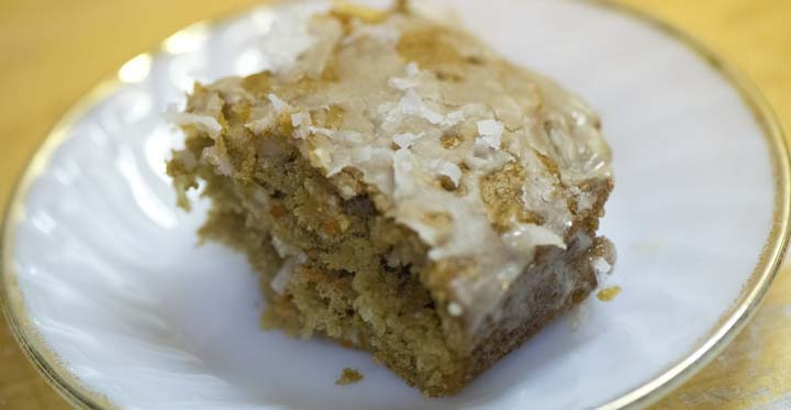 ... With Erica: Holiday Spiced Carrot Coconut Cake - Marquette Magazine