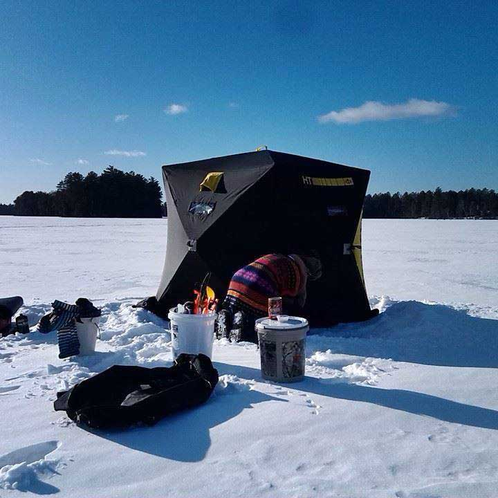 Ice-Fishing-Shanty-photo - Marquette Magazine